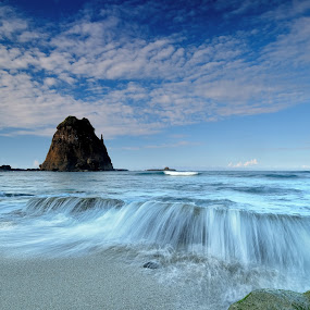 papuma beach...from the other side by Hery Sulistianto - Landscapes Beaches (  )