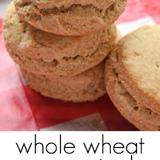 Whole Wheat Coconut Oil Biscuits with Raspberry Butter