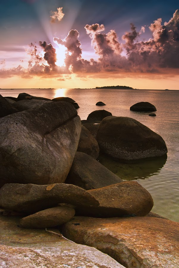 ROL  Sore Itu by Eddie Cheever - Landscapes Weather ( belitong, belitung )