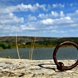 Argola by Gil Reis - Artistic Objects Other Objects ( lagoon, nature, places, objects, iron )