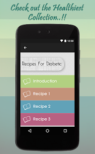 Recipes For Diabetic - screenshot
