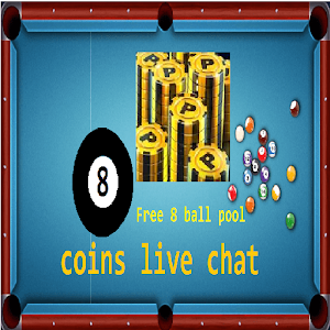 Download free Free 8 Ball Pool Conis Live Chat for PC on Windows and Mac
