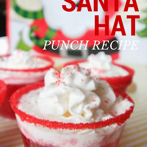 Santa Hat Holiday Punch