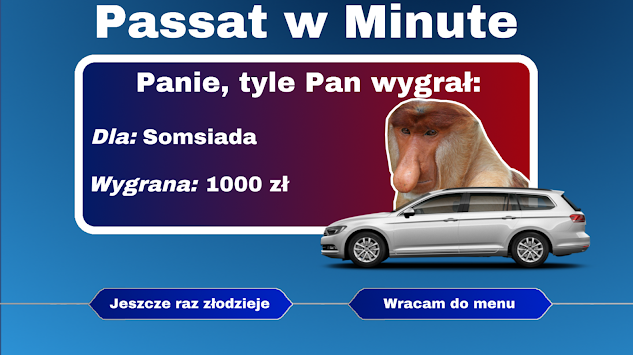 Passat W Minute APK screenshot thumbnail 3