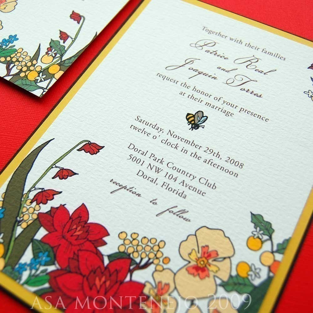 Sammiah\'s blog: Country Wedding Invitation
