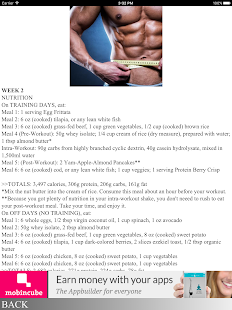 THE 7% BODY-FAT DIET - screenshot