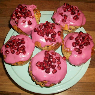 Pomegranate Muffins Recipes