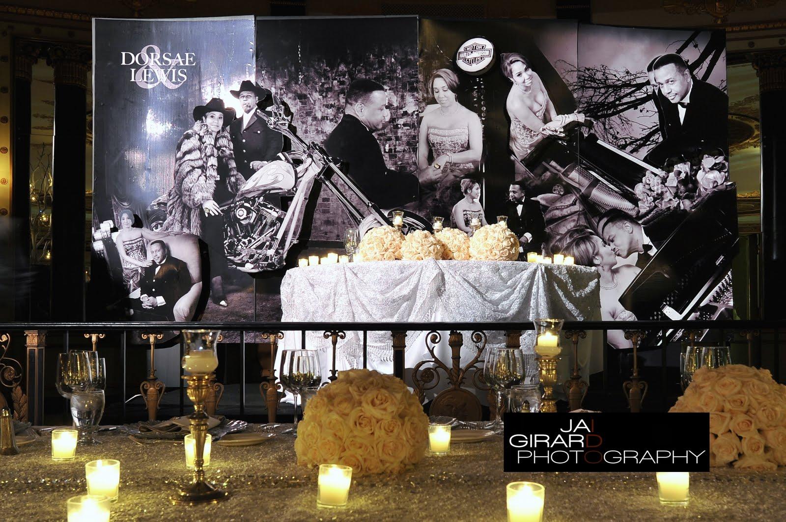 gothic wedding decor