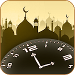 Muslim Prayer Time with Azan Alarm Mosque Finder Icon