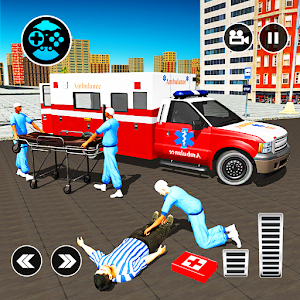 911 Ambulance City Rescue: Emergency Driving Game Online PC (Windows / MAC)