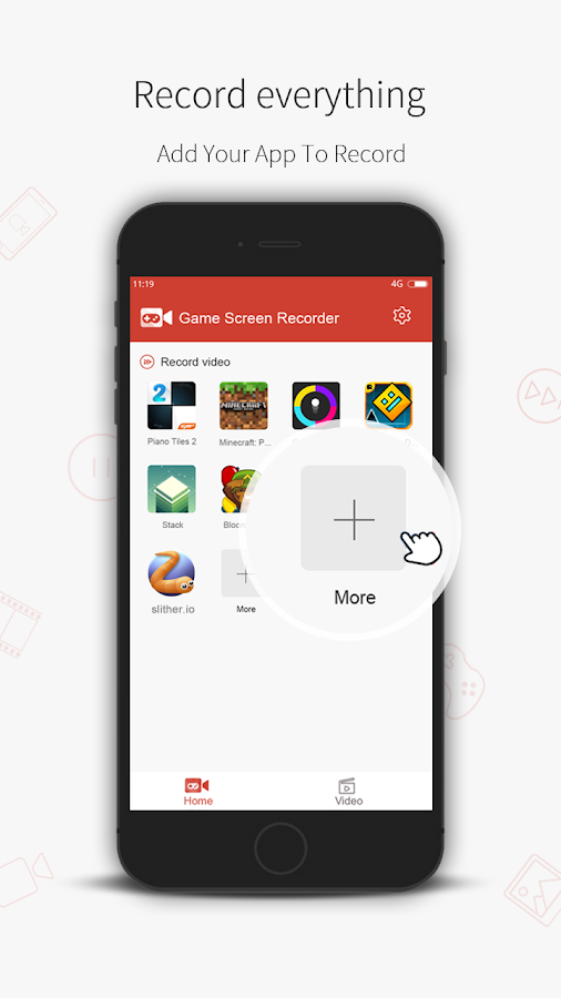 DG Game Screen Recorder Screenshot 1