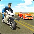 Police Bike Shooting - Gangster Chase Car Shooter