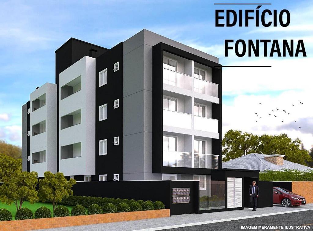 Apartamento com 2 dormitórios à venda, 55 m² por R$ 200.000 - Bom Retiro - Joinville/SC