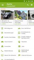 Screenshot of eBay Kleinanzeigen for Germany