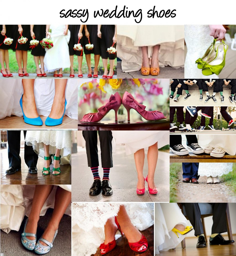 Fun Wedding Shoes.
