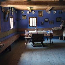 Simplicity by Diana Buzoianu - Buildings & Architecture Homes ( interior, old, blue, architecture, homes )