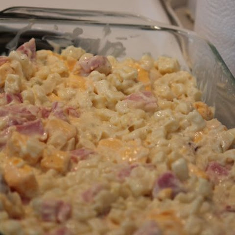 Ham and Cheese Potato Casserole