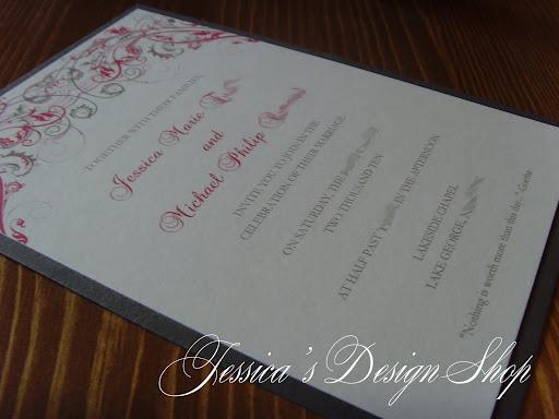 wedding scroll invitations nyc