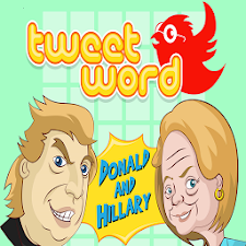 Donald&Hillary Daily Tweetword