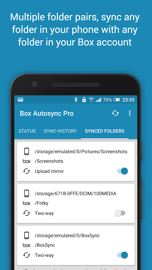 Autosync Box Cloud Storage Screenshot 5