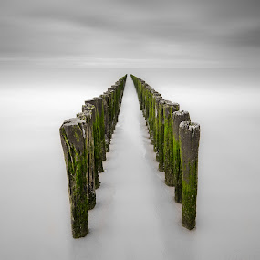 Endless by Steven Put - Landscapes Waterscapes ( abstract, sea, long exposure, seascape, landscape, Water )