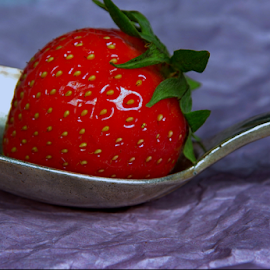 strawberry by Joseph Muller - Food & Drink Fruits & Vegetables ( fruit, red, season, strawberry,  )