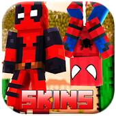 Superhero Skins for Minecraft Pocket Edition MCPE  for Android