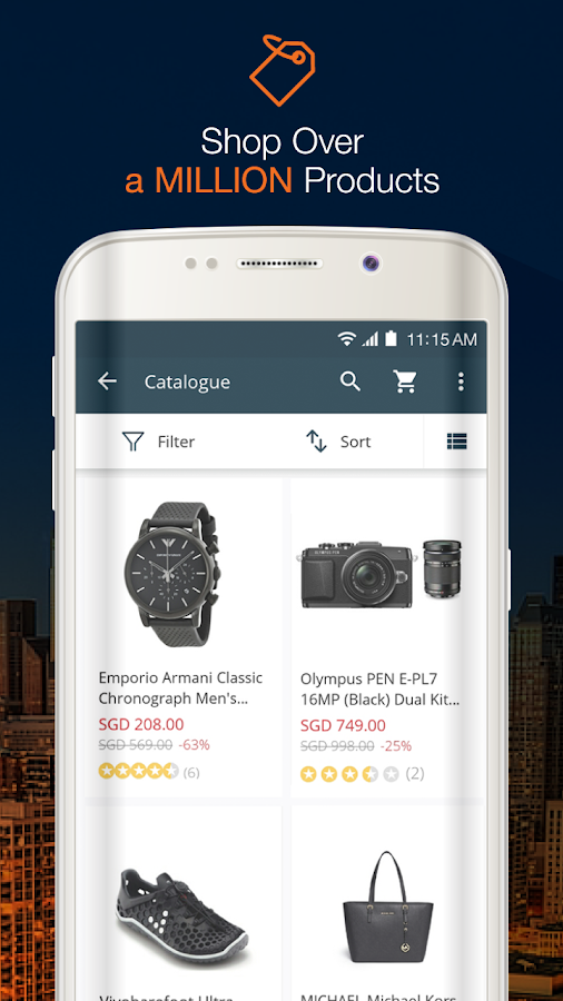 Lazada - Shopping & Deals Screenshot 2