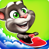 APK Game Talking Tom Jetski for BB, BlackBerry