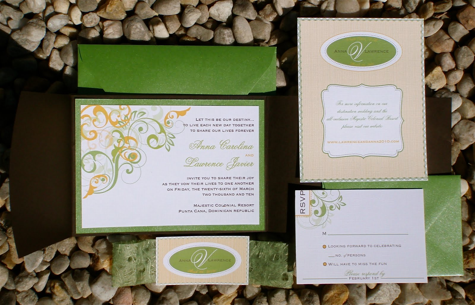 Fold Wedding Invitation