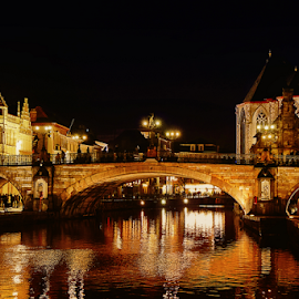 Gent (Belgium) by Ad Spruijt - Buildings & Architecture Bridges & Suspended Structures