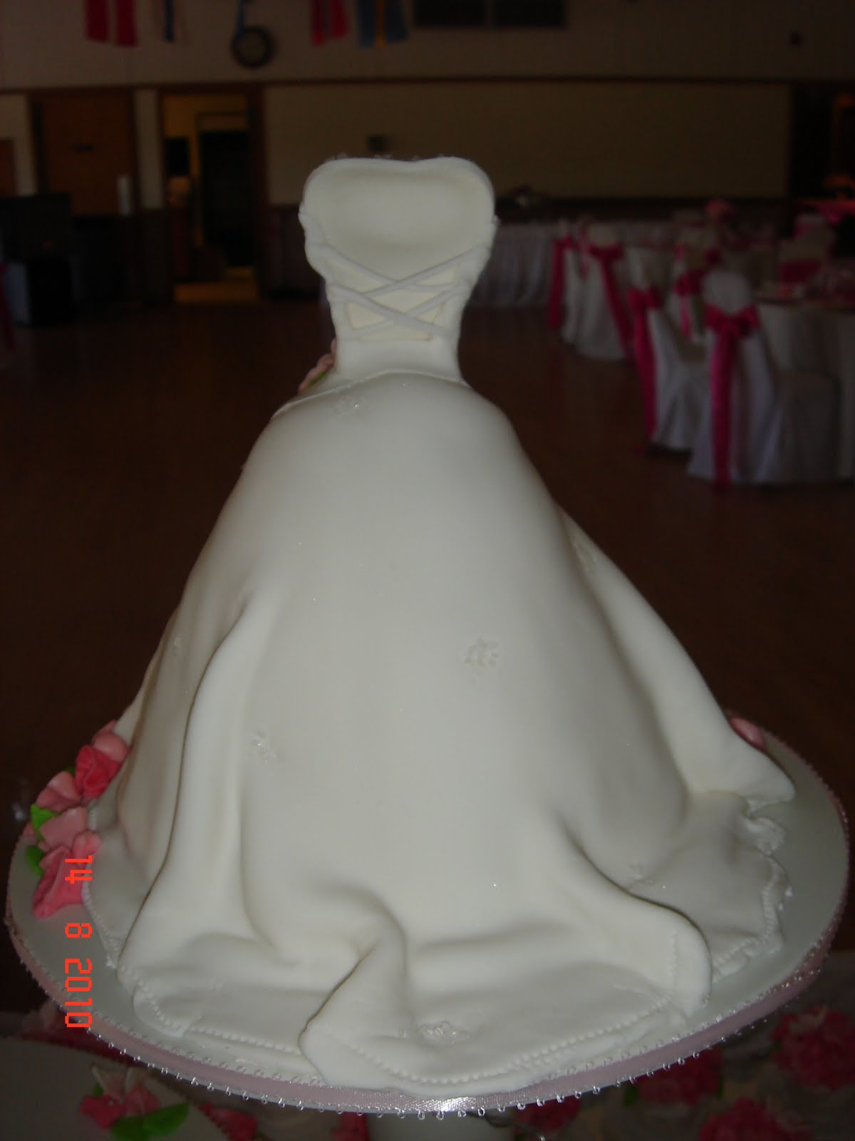 Wedding Dress Mini Cake