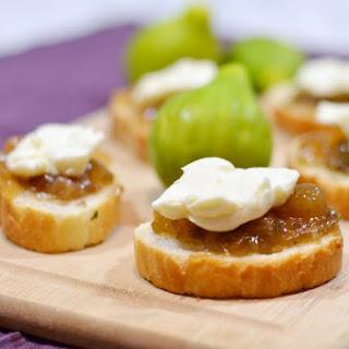 Brie Fig Appetizer Recipes