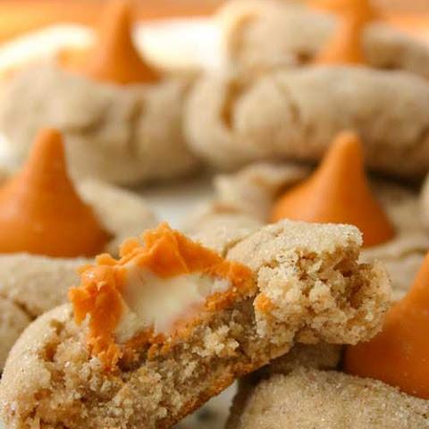 Cinnamon Pumpkin Spice Kiss Cookies