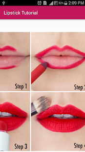 Lipstick Tutorial - screenshot