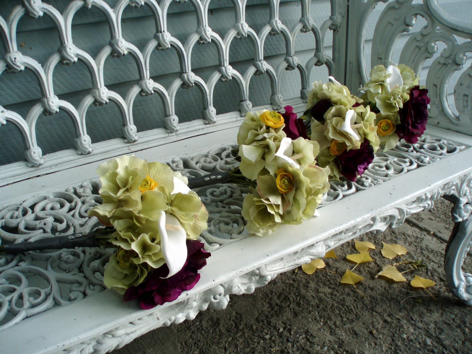 fall outdoor wedding reception