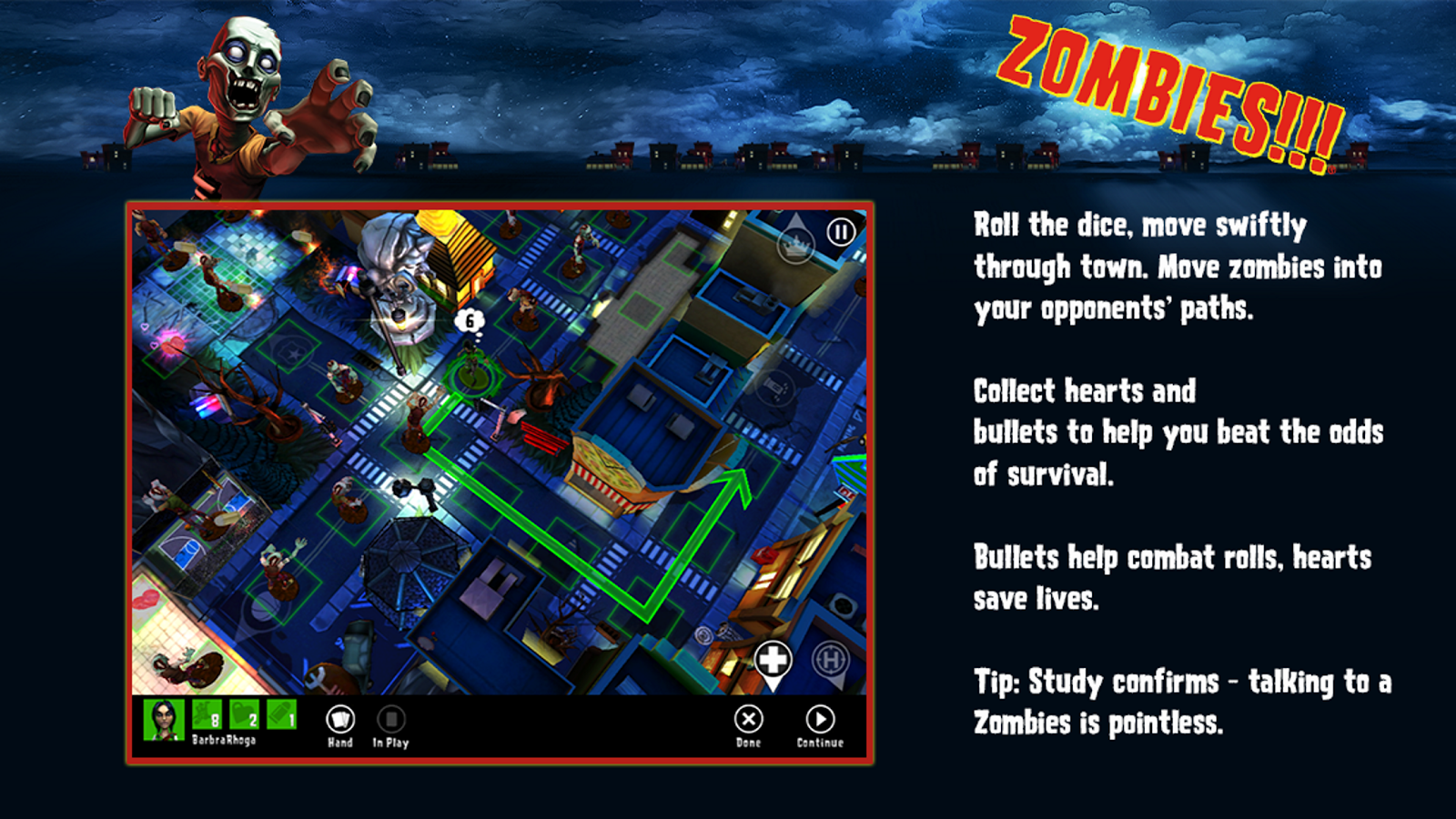 Zombies!!! ® Board Game Screenshot 2