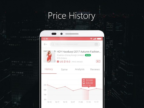 AliPrice -- AliExpress Price Tracker APK screenshot thumbnail 5