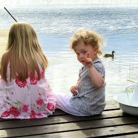 Midsummer girls by Birgith Haraldsson - Babies & Children Children Candids