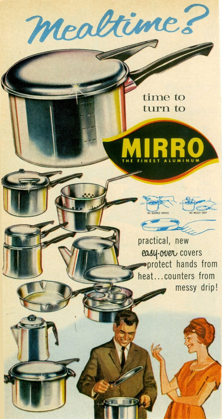 Mirro & Frigidaire Ads