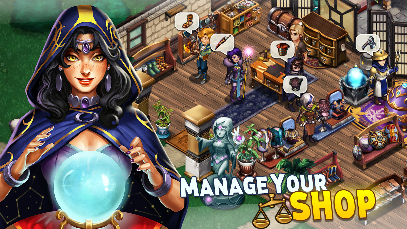 Shop Heroes Screenshot 1