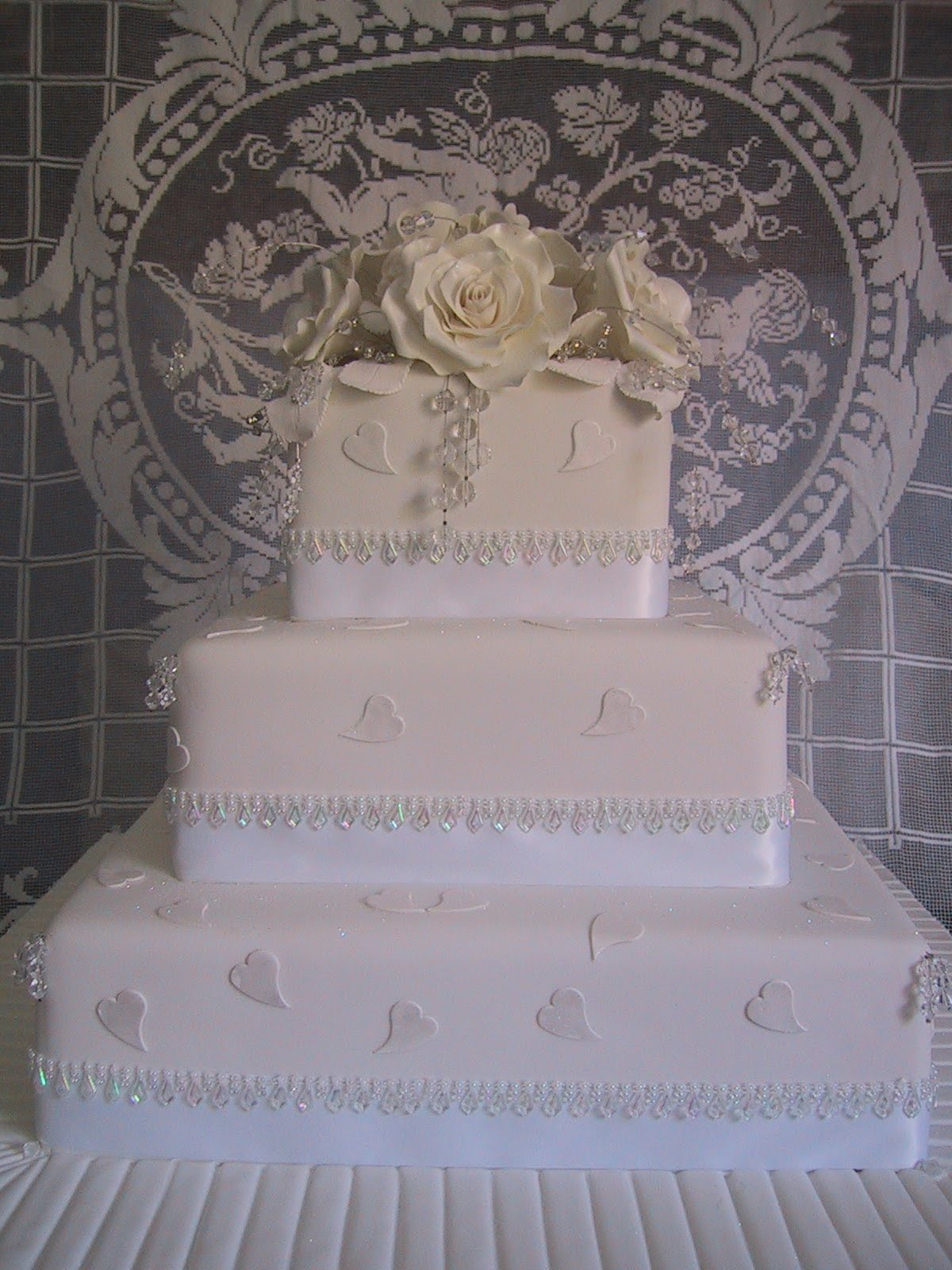 My wedding cake was a typical