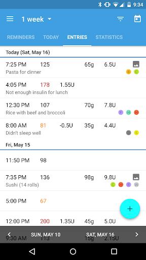 BG Monitor Diabetes Pro - screenshot