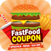 King Fast Food Coupons – Burger King, Pizza For PC