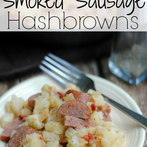 Smoked Sausage Hashbrowns