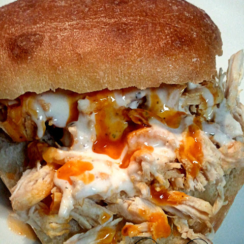 Buffalo Chicken Sliders ... In the Crock Pot!