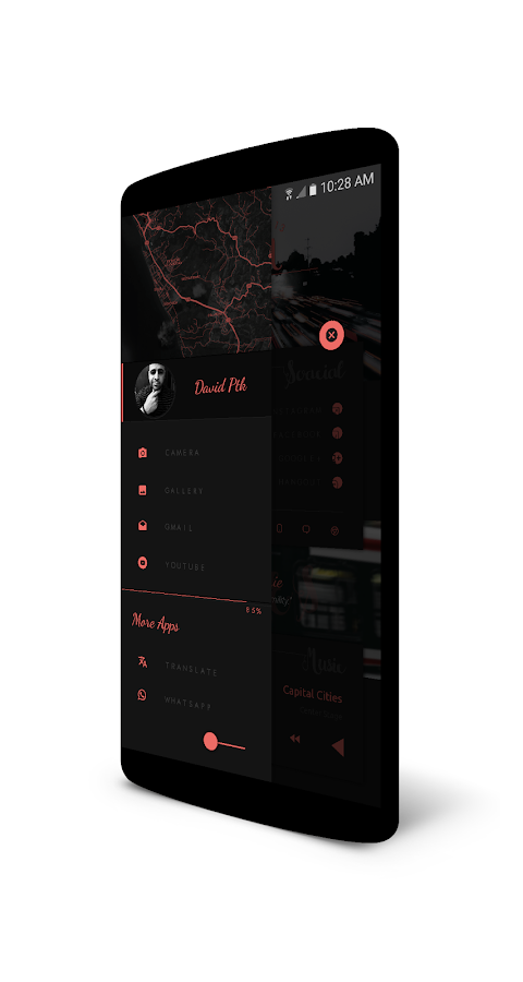 DarkArds for KLWP Screenshot 6