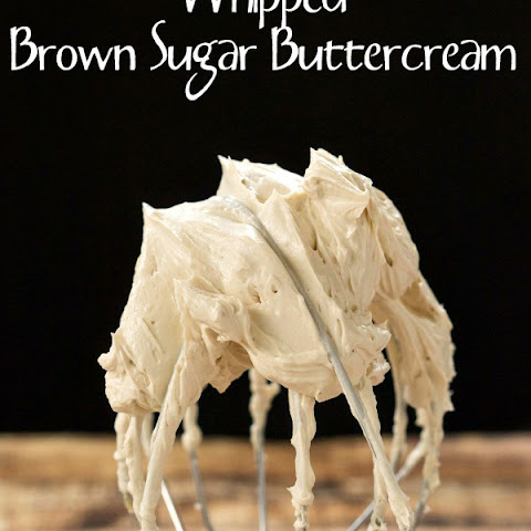 Whipped Brown Sugar Buttercream
