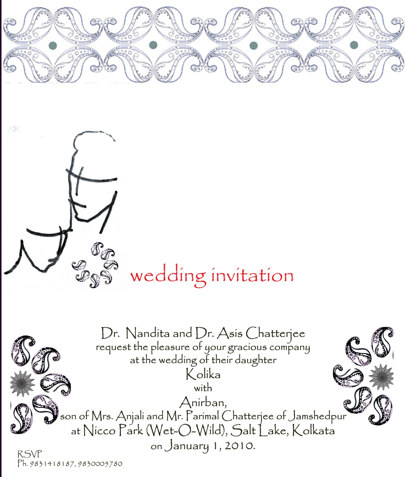 A Wedding and the Marriage