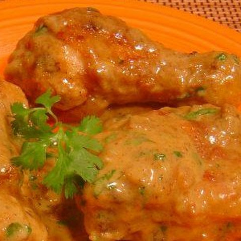Indian Chicken Thighs with Lime and Curry